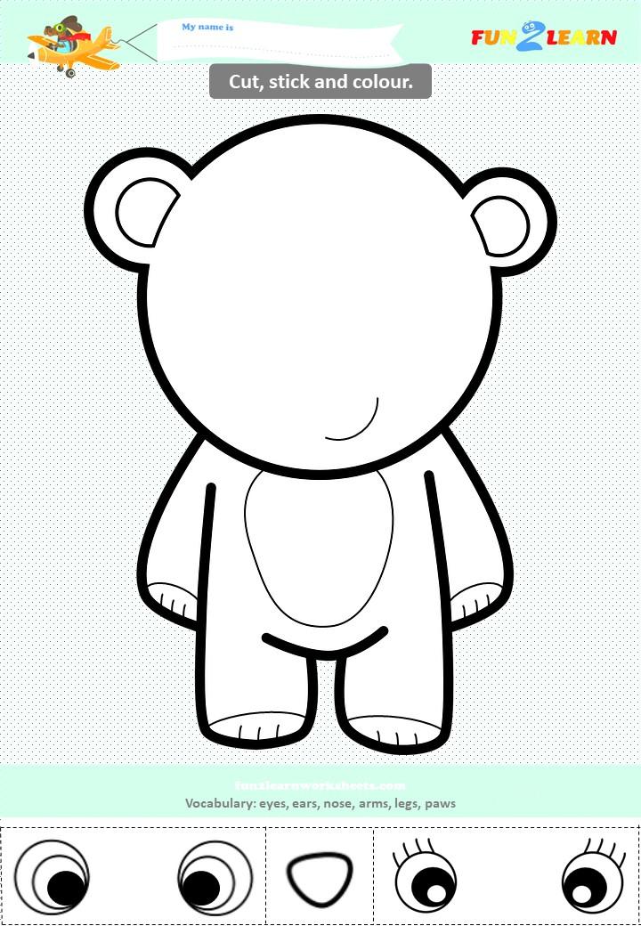 my teddy bear esl worksheet