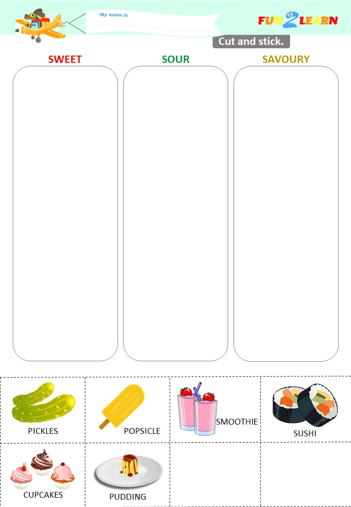 pickle pudding esl worksheet young learners