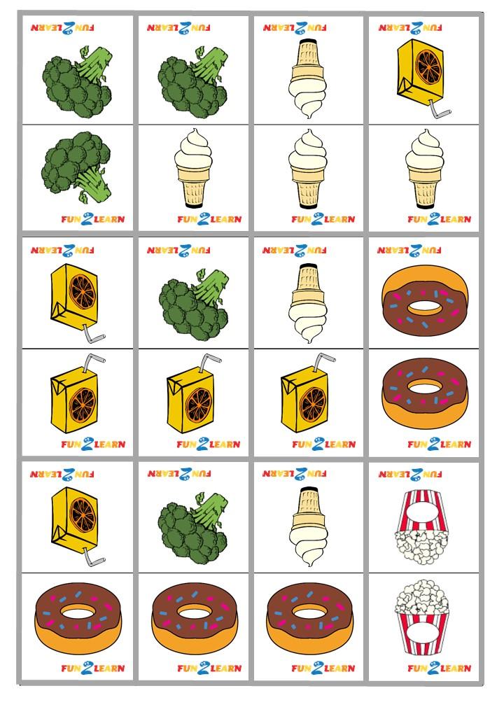 broccoli ice cream dominoes