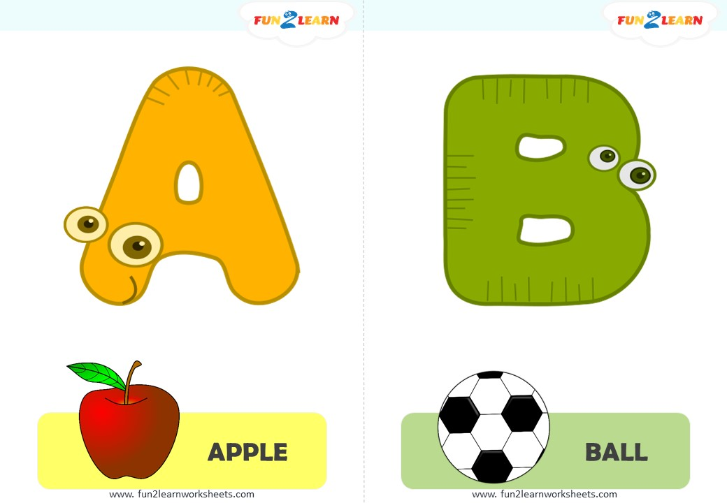 alphabet flashcards free
