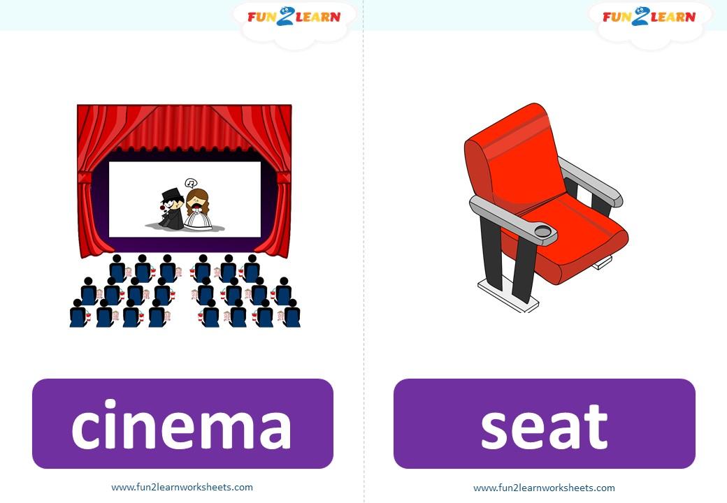 pocoyo cinema flashcards