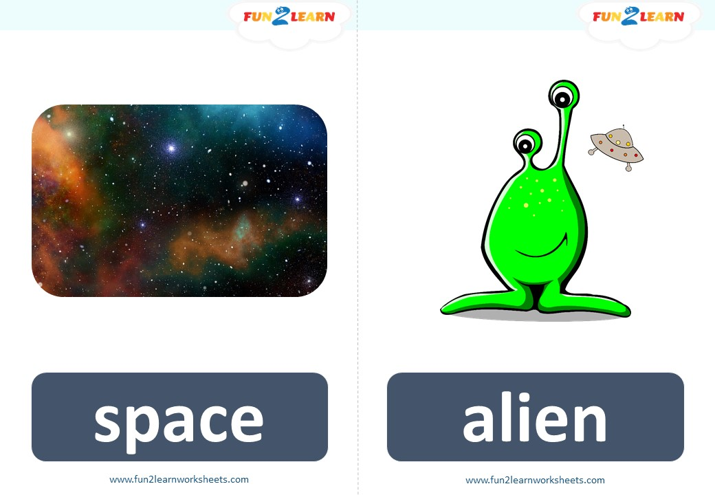 pocoyo space mission flashcards