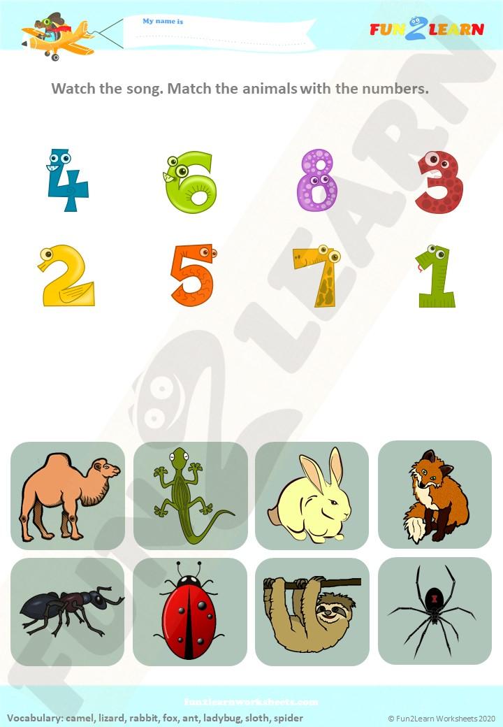 alice the camel worksheet