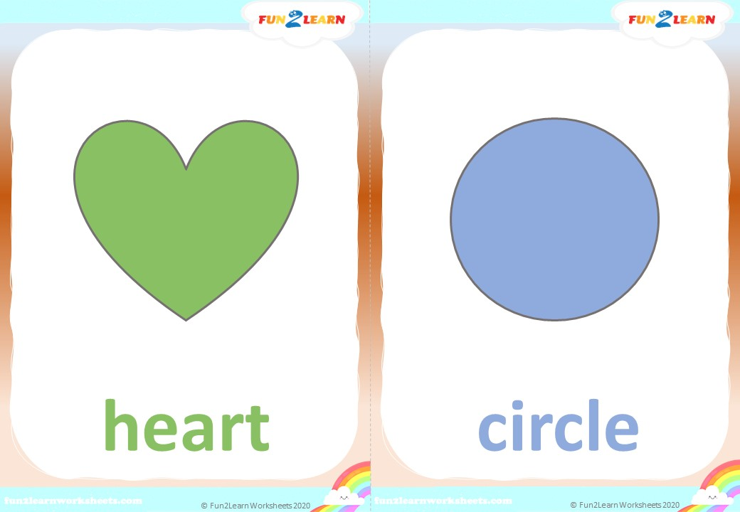 shape song #1 super simple songs flashcards