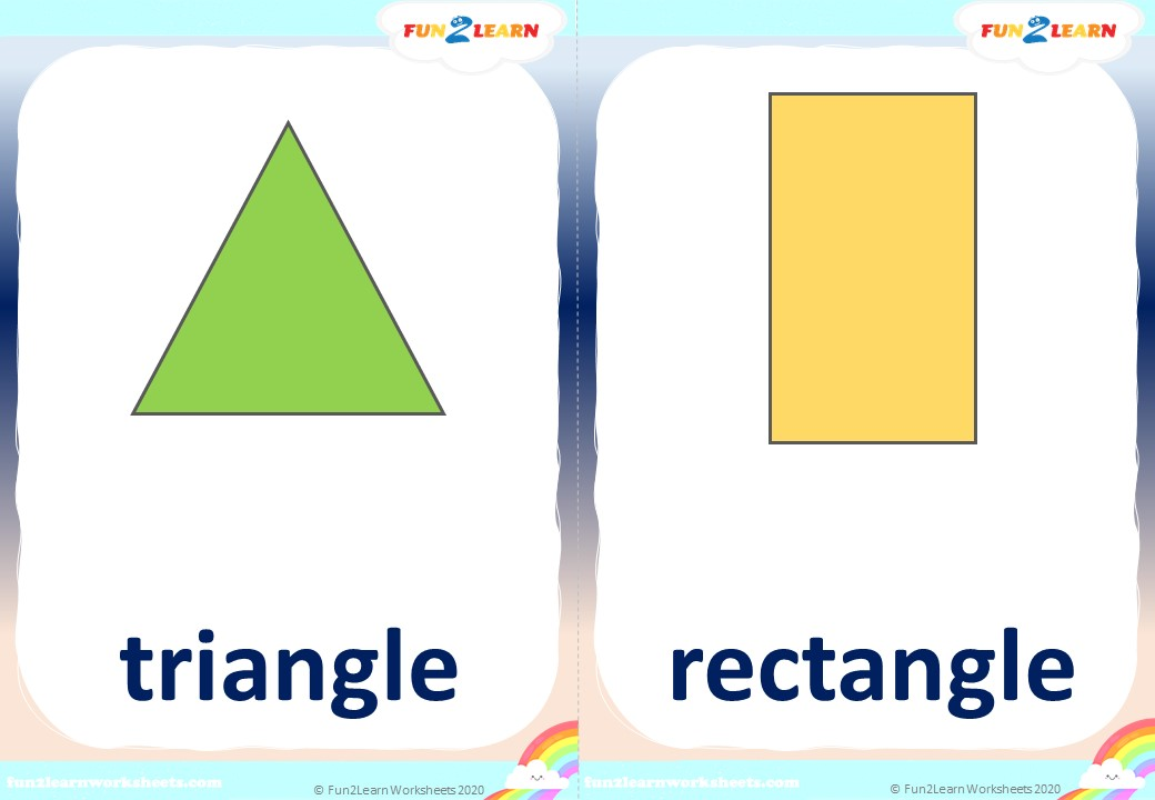 shape song #2 free flashcards