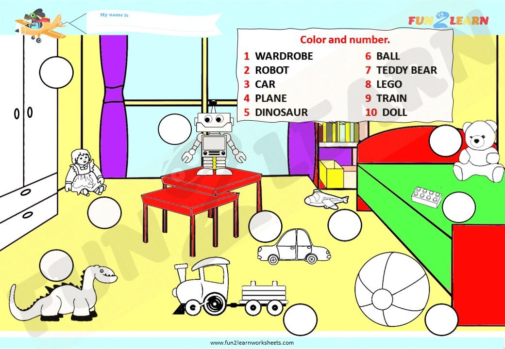 ESL/EFL worksheet for Dangerous Toys