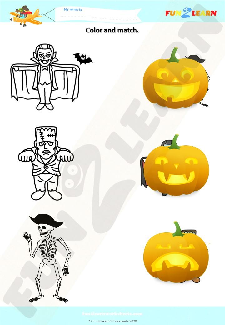 steve maggie monster vampire skeleton worksheet