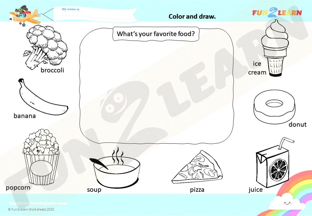 do you like broccoli worksheet young learners