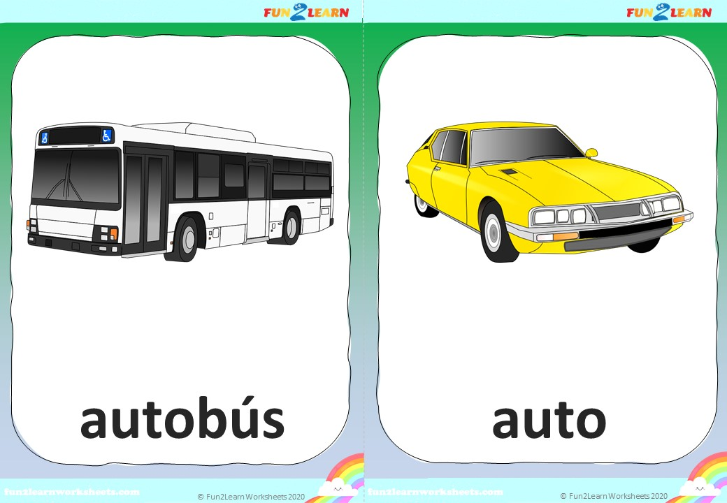 ruedas del Autobús Steve and Maggie flashcards