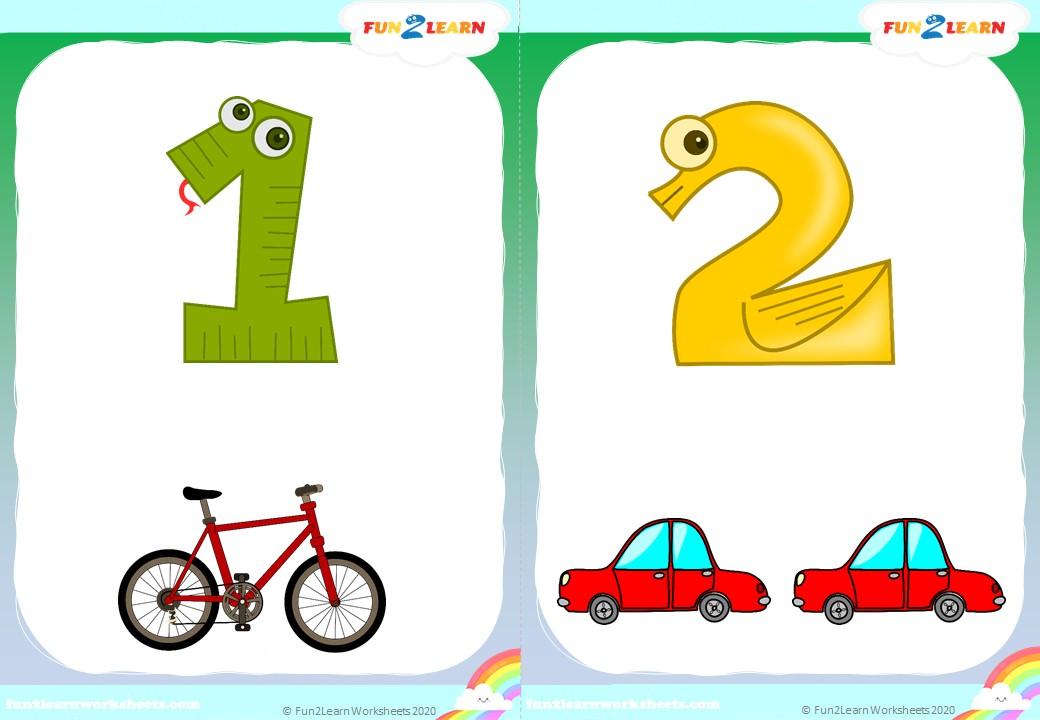 counting transportation song matt flashcards