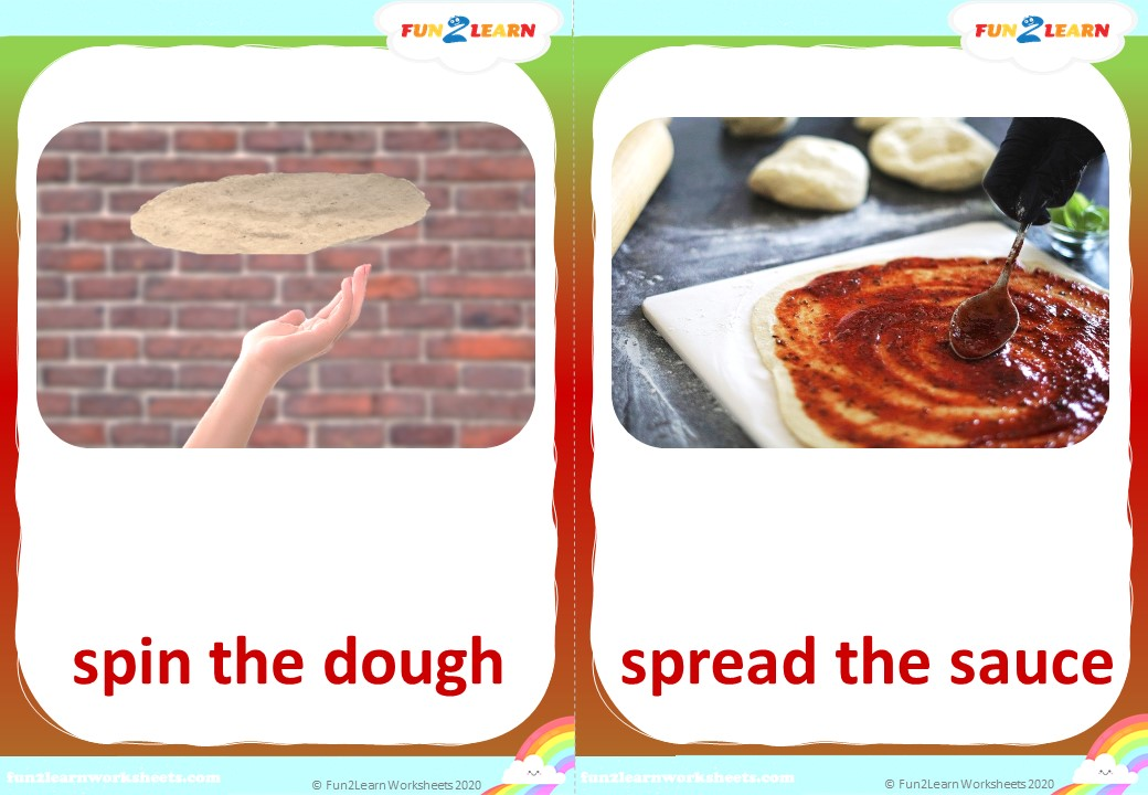 pizza party super simple flashcards