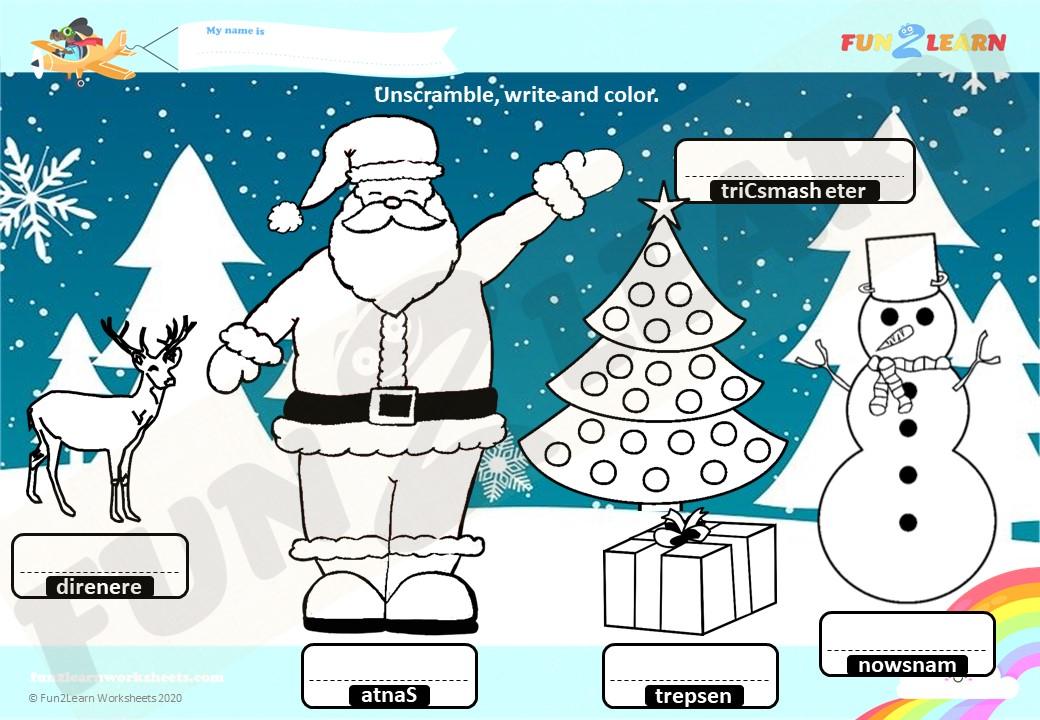 steve and maggie esl christmas worksheet