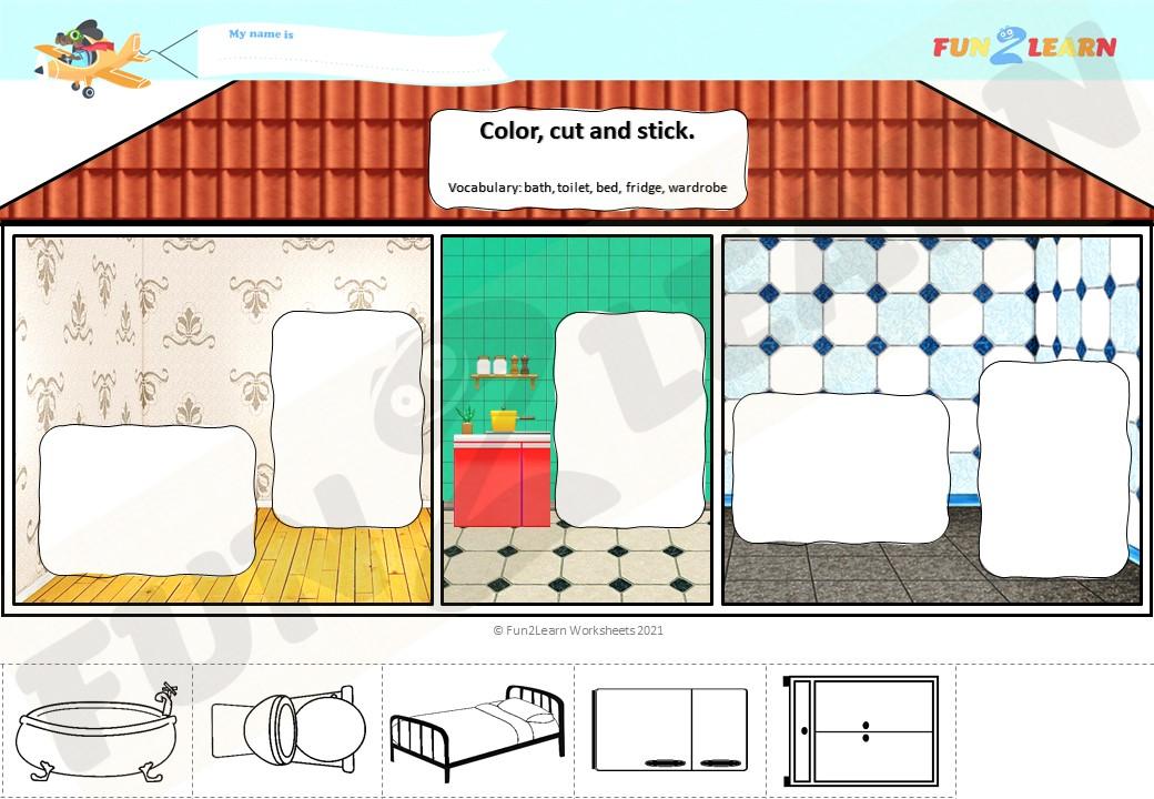 steve maggie house worksheet