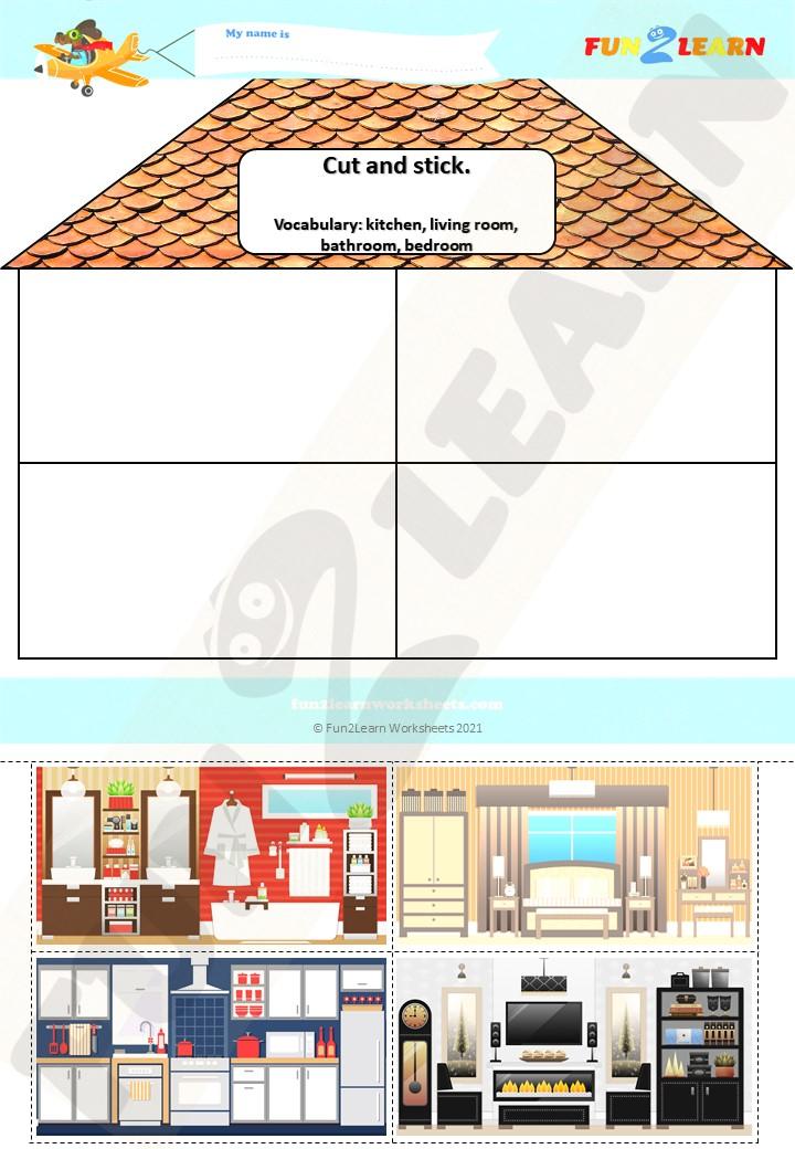 steve maggie rooms house worksheet