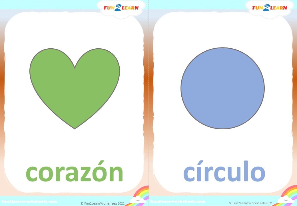 formas super simple flashcards