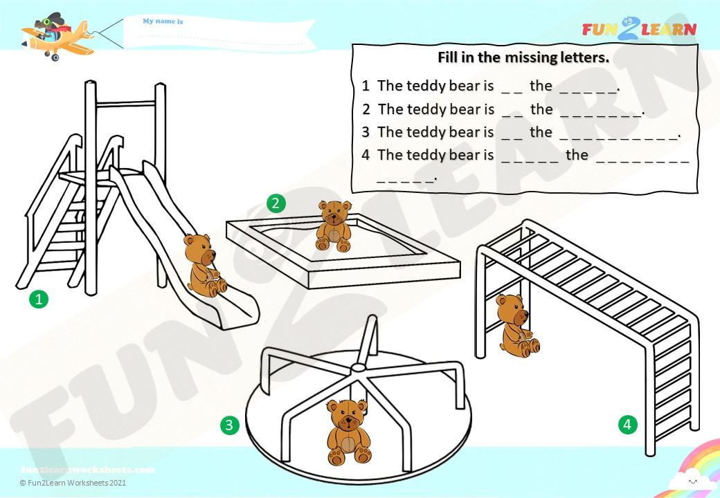 dinosaur playground steve maggie worksheet