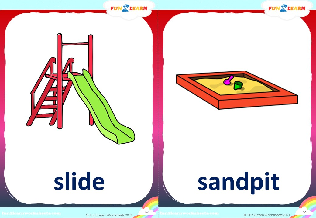 steve maggie dinosaur playground flashcards